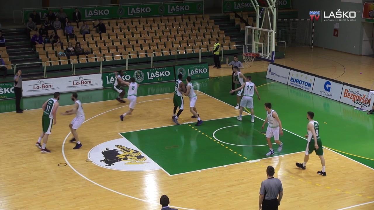 Liga Nova KBM: V tretjem krogu lige za prvaka košarkarji Zlatoroga premagali Krko