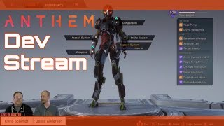 Anthem Dev Stream - Elysian Caches, Legenday Missions, Cache Keys, Loot Improvemnts & More!