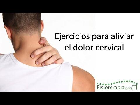 ¡Cuídate! 4 Sencillos Ejercicios Para Alviar El Dolor Cervical