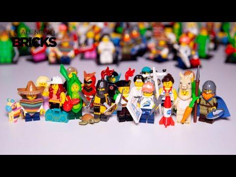 Vidéo LEGO Minifigures 71027 : Série 20