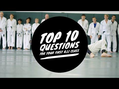 Top 10 Questions For Your First Brazilian Jiu-Jitsu Class