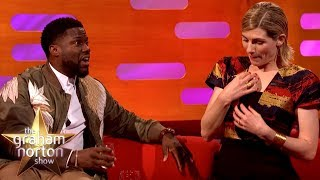 Kevin Hart Loses It Over Jodie Whittaker's Poisonous Spider Story   The Graham Norton Show