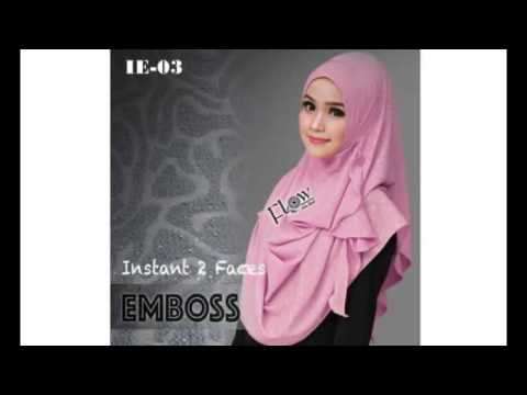 Video Pashmina Instant Flowing Embos