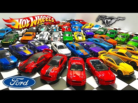 Ford Mustang Hot Wheels Collection
