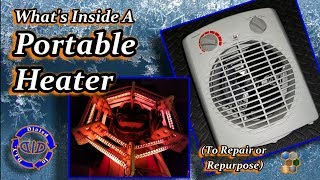 What's Inside a Fan Heater - Fix or Salvage