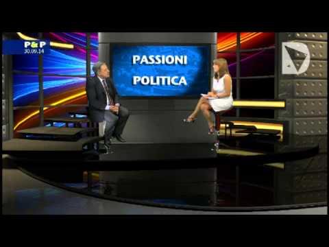 Passioni & Politica - ospite in studio Alberto Magnolfi, capogruppo Ncd nel consiglio regionale toscano.
