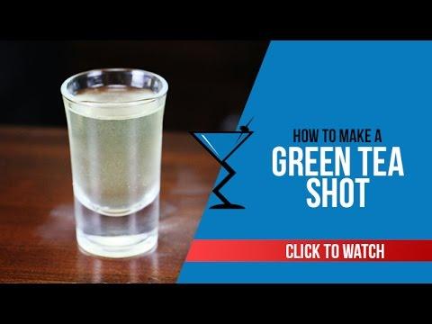 Green Tea Shot – How to make a Green Tea Shot Recipe by Drink Lab (Popular)