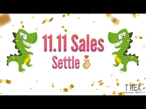 First Batch of 11.11 Sales Settle!!!