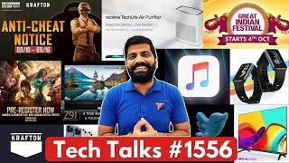 Tech Talks #1556 - BGMI Ban, FreeFire Max, iPhone 13 Pro Demand, Amazon Sale Dates, Realme Band 2