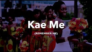 Evelyn Amo - Kae Me {Remember Me} (Audio Only)