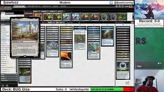 2019/08/15 - Modern: Trying Out BUG Urza