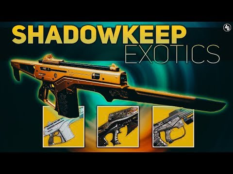 Shadowkeep Exotics (Confirmed & Speculated) | Destiny 2 Shadowkeep News