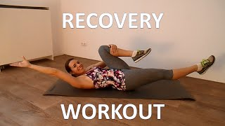 12 Minute Active Recovery Workout – Low Impact Recovery Exercises by FitnessType