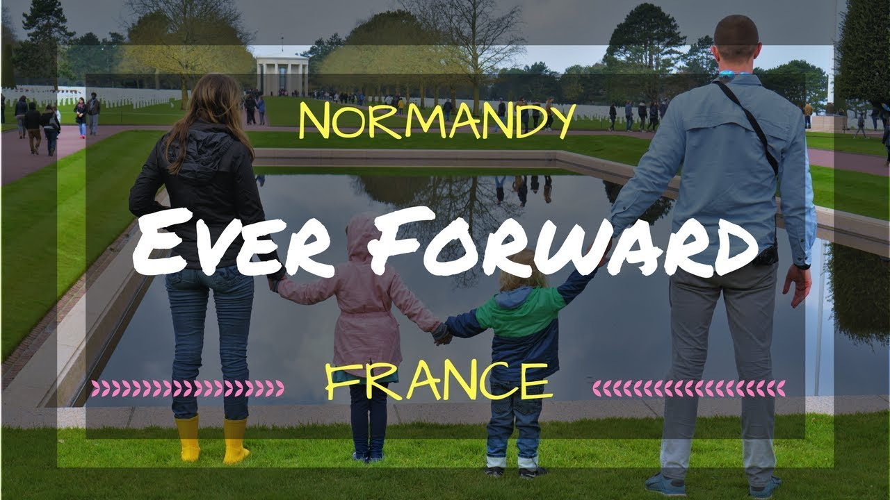 Worldschooling Kids - WWII History in Normandy France