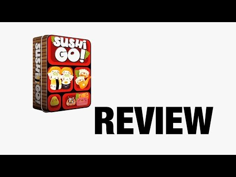 Brooks from BoardGameCavern reviews Sushi, Go!