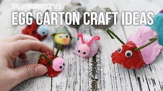 DIY Egg Carton Craft Ideas For Kids