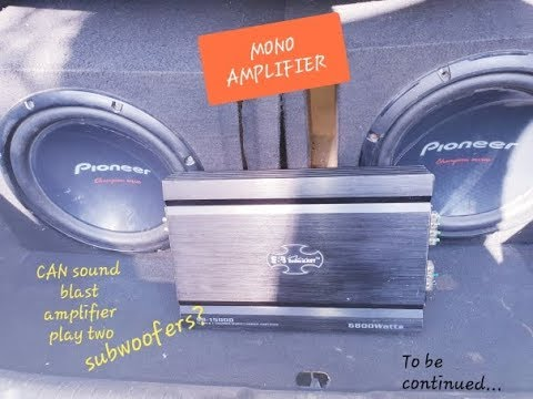 Subwoofer Amplifier at Best Price in India