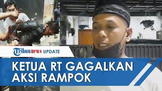Aksi Ketua RT dan Warga Gagalkan Perampok Bersenjata Api di Ciputat, 2 Orang Kena Tembak
