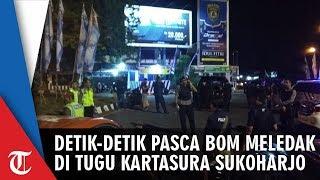 Video Detik-detik Pasca Bom di Tugu Kartasura Sukoharjo