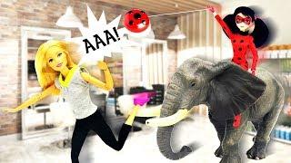 Барби в СПА оживила слона - Мультики с куклами