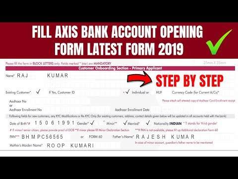 Axis bank kyc formpdffillercom - Fill Out and Sign Printable