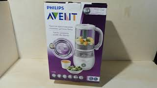 Philips AVENT SCF885 - 4 in 1 Healthy baby food maker
