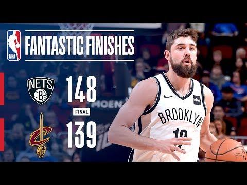Nets And Cavs Battle In TRIPLE-OT! | February 13, 2019