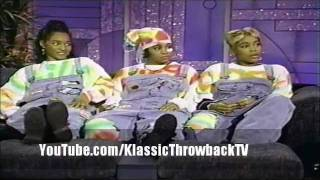 "TLC - ""Hat 2 Da Back"" (Arsenio Hall Show) Live (1993)"