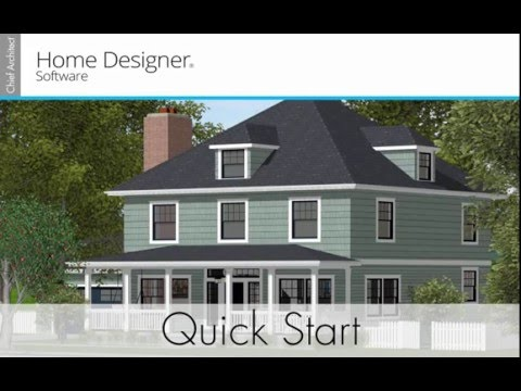 Home Designer 2017 - Quick Start