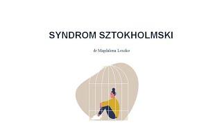 Syndrom sztokholmski