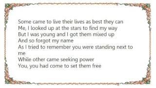 Johnny Clegg - Rolling Ocean Lyrics