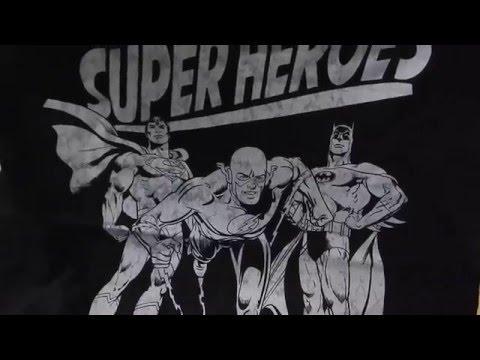 T Shirt Collection Part 1 Marvel & DC Comics