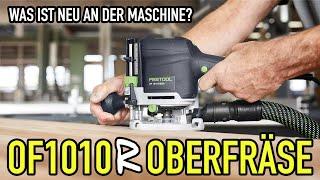 OF 1010 R - Was kann die neue Festool Oberfräse? - Produkte erklärt - Mikes Toolshop