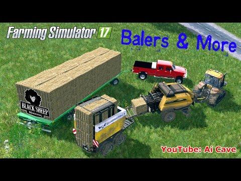 Farming Simulator 17 Baling Technology by Black Sheep