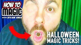 7 Halloween Magic Tricks You Can Do