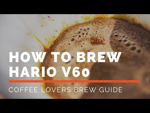 How to Brew V60 - A Simple Brewing Guide for Consistent Delicious Coffee