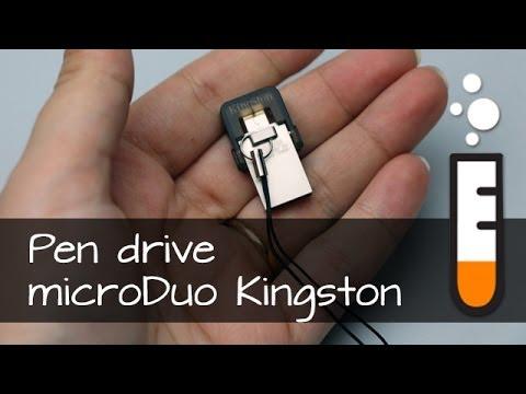 Pen drive DataTraveler microDuo Kingston - Vídeo Resenha Brasil