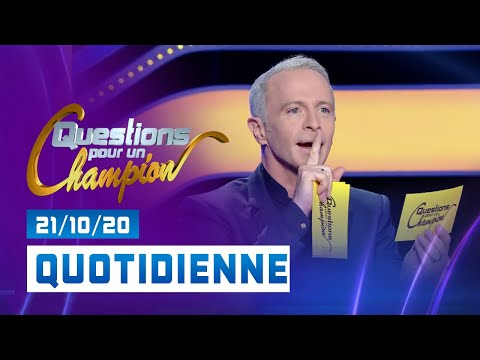 Emission du Mercredi 21 Octobre 2020 - Questions pour un champion