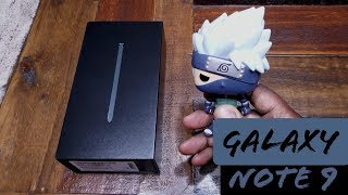 Samsung Galaxy Note 9: Unboxing
