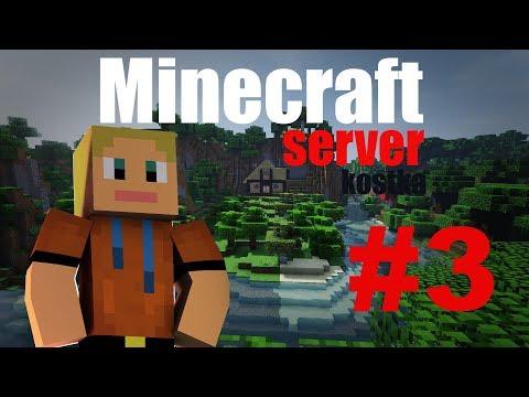 DukyLP - Minecraft server KOSTKA #3 - Nový stavby
