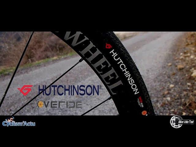 Видео Покришка Hutchinson OVERIDE 700X45 TS TL