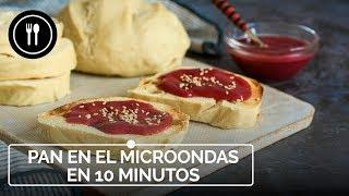 Cómo hacer PAN EN MICROONDAS: en 10 minutos y sin harinas o levaduras especiales