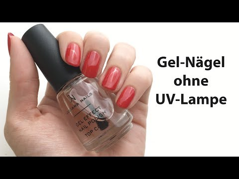 Live-Test Effekt-Nagellack Gel-Nägel ohne UV-Lampe | 'seni Nageldesign