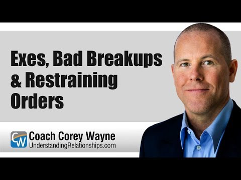 Ex's, Bad Breakups & Restraining Orders