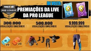 Recompensas e Metas da Live da Pro League 3, Novos Eventos do Mundial, Cartão Dobro de Pontos e MAIS