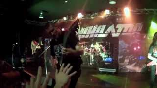 Annihilator - (Bliss, Second To None) | Live in Belgrade | GoPro (front rows)