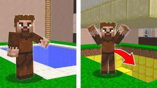 FAKİR HAVUZDA GİZLİ BÖLGE BULDU! 😱 - Minecraft