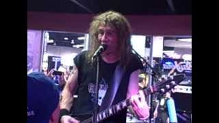 NAMM 2013 Anvil 666 live