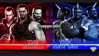 WWE SURVIVOR SERIES 2017 CUSTOM MATCH CARD PSD Y PARTES BY R.S. DESINGS