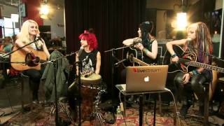 Cherri Bomb Live Acoustic Session + Q&A (HQ)
